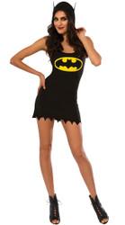 Batgirl Hooded Tank Dress Adult Costume