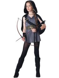 Hooded Huntress Katniss Tween Costume