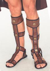 Adult Gladiator Sandals Costume Accessory