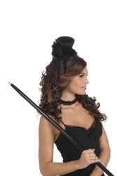 Mini Victorian Hat w/Headband