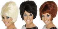 Sixties Beehive Wig Costume Accessory by Smiffy's