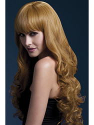 Smiffys Fever Isabelle Wig Long Soft Curl with Fringe