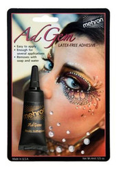 RHINESTONES & ADHESIVE KIT gem glue jewels face body art makeup costume party