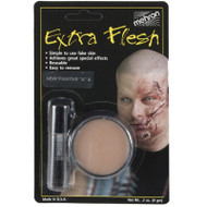 Extra Flesh with Fixative Prosthetics Mehron Makeup