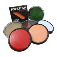 Foundation Greasepaint Makeup by Mehron (Multiple Colors Available)