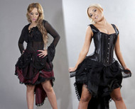 Suzanna Knee Length Burlesque Skirt