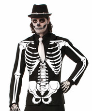 Adult Skeleton Suit Coat Jacket - Std one size fits most