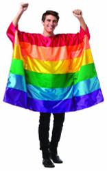 Flag Tunic Rainbow Adult Costume