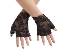 Sexy Lace Fingerless Gloves