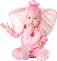 Pink Elephant Baby Toddler Costume