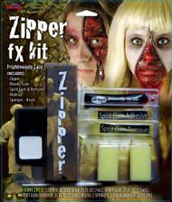 Face Zipper FX Prosthetic Makeup Kit