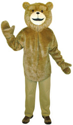 Ted Jumpsuit & Headpiece Costume Adult One Size