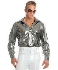 Silver Nail Head Disco Shirt