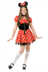 Little Miss Minnie Mouse with petticoat