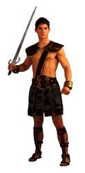 ROMAN GLADIATOR stud spartan greek warrior 300 sexy mens adult halloween costume