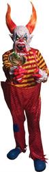 Horns the Clown Costume Set Adult