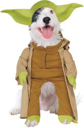 Officially Licensed Yoda Star Wars Dog Costume
