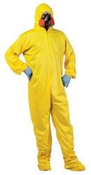 Yellow Hazmat Adult Costume