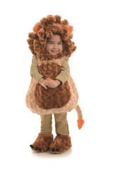 Plush Cuddly Lion Toddler Costume