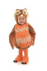 Plush Autumn Owl Toddler Costume