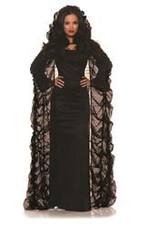 Coffin Cape Costume Accessory