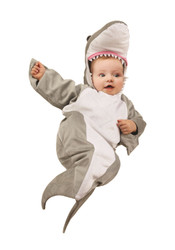 Little Jaws Shark Bunting Infant Costume 0/6M