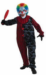 CREEPO THE CLOWN creepy scary evil adult mens nightmare halloween costume