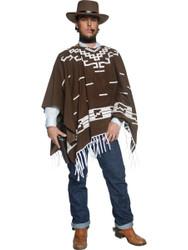 Adult Western Wandering Gunman Clint Eastwood Costume