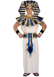 KING TUT egyptian robe prince biblical pharoah mens adult halloween costume