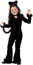 Playful Black Cat Toddler Costume