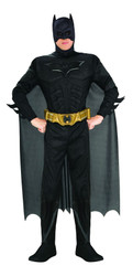 Deluxe Batman  Muscle Chest Adult Costume