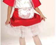 WHITE PETTICOAT girls kids crinoline skirt undergarment halloween costume