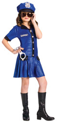 Police Chief Girl's Costume Dress