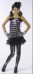Skeleton Sweetie Dress Girl's Costume