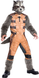 Guardians of the Galaxy Deluxe Rocket Raccoon Costume Kids