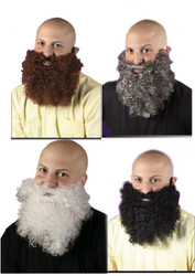 Big and Curly Beard Costume Accessory