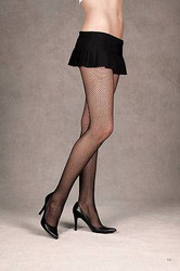 Black Fishnet Stockings Tights Pantyhose - 3 Pairs