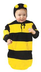 BUMBLEBEE bunting infant baby kids halloween costume 9M