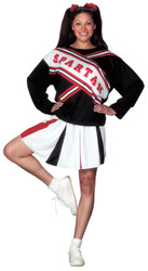 Spartan Cheerleader womens costume