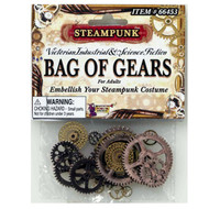 STEAMPUNK Bag of Gears industrial cosplay costume accessory