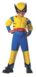 WOLVERINE boys marvel comic superhero toddler halloween costume 2T 4T