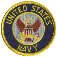 US NAVY PATCH embroidered iron on military USA  halloween kids mens costume