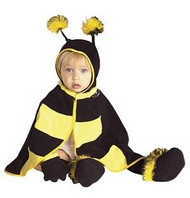 BEE bumblebee girls boys kids baby infant costume 6-12M