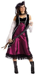 PIRATE renaissance womens adult costume halloween S M
