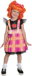 Lalaloopsy Deluxe Bea Spells-A-Lot Girls Costume