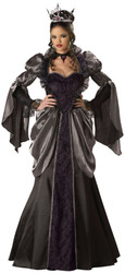 Women's Wicked Queen Witch Costume