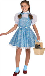 Wizard of Oz Deluxe Dorothy Costume Kids