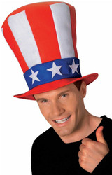 Uncle Sam Stovepipe Hat