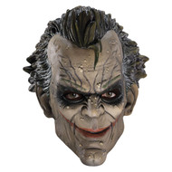 Joker 3/4 Vinyl Mask Batman Arkham City Asylum Costume Accessory