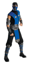 SUBZERO sub-zero mortal kombat warrior mens adult halloween costume Std